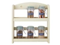 Cream Spice Rack