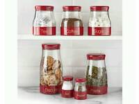 Set of kitchen container