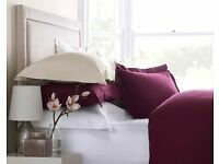Luxury Percale Double Fitted Sheet