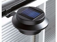 2 SOLAR GUTTER LIGHTS BRAND NEW STOCK