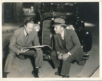 Robert Armstrong William Keighley 1935 Candid G Men Set Warner Bros Photo Cagney