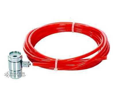 لاعمال السباكة جديد Chrome Faucet Diverter Valve/adapter ring Reverse Osmosis/Water Filter LEAD FREE