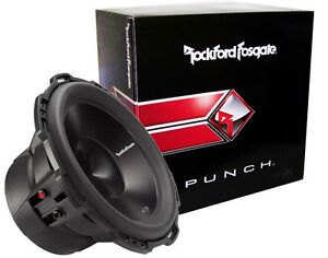 ROCKFORD-FOSGATE-P3D4-10-PUNCH-P3-SERIES-10-CAR-SUBWOOFER-DUAL-4-OHM-NEW