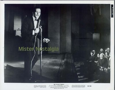 PAT BOONE Vintage 1963 photo singing on stage YELLOW CANARY