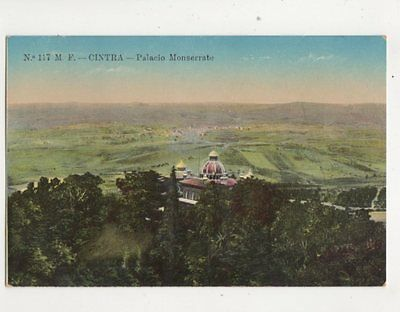 Cintra Palacio Monserrate Portugal Vintage Postcard 291b
