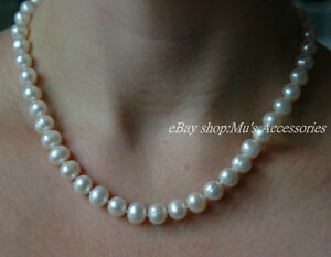 High-Lustre-Freshwater-Pearl-Necklace-Sterling-Silver-Clasp-18-20-25-30