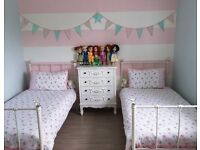 "2x Ex Next ""Ella"" Single Bed Frame ONLY"