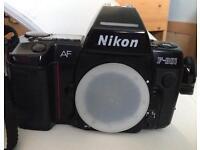 Nikon F 801 film camera body