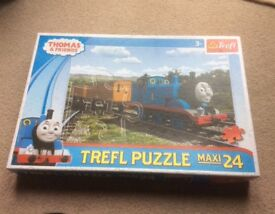 Thomas the Tank Engine 24 piece large jigsaw. Excellent condition