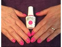 Gelish, Shellac, waxing, tinting,lash extensions,