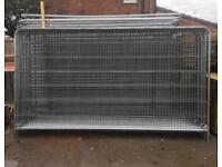 🚧 Round Top Heras Security Fencing Sets > Panel/ Foot/ clip > New