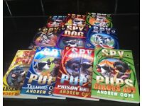 Spy Dogs and Spy Pups children's book set