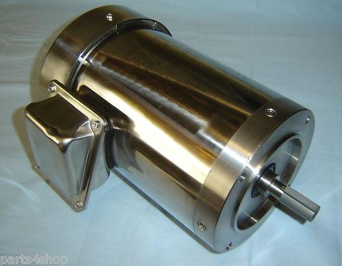 Dayton 6WY62 Washdown Electric Motor 2 HP 1740 RPM NEW