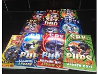 Spy Dogs & Spy Pups children's book set by Andrew Cope age 5+