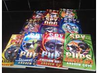 Spy Dogs & Spy Pups childrens book set