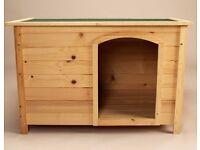 New Dog Kennel Puppy Pet Home Sleep Outdoor Shelter Summer Play from Fir Wood