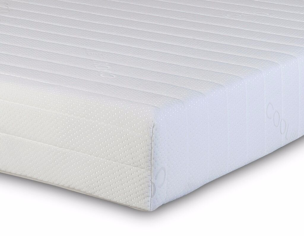 Deluxe Memory Coil Mattress **Home Delivery Available**