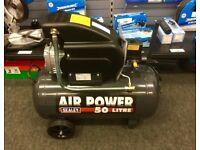 SEALEY 50 L Air Compressors & Accessory Kit