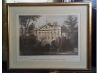 Thomas H Shepherd print in high quality mount and frame - offers accepted