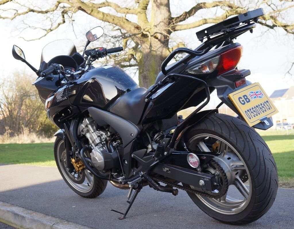 2009 honda cbf 600 sa 8 abs cb fz6 hpi mot panniers set free delivery in leicester. Black Bedroom Furniture Sets. Home Design Ideas