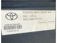 Bed liner Toyota hilux