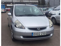 2002 HONDA JAZZ 1.4 PETROL ECONOMICAL CAR