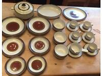 Denby 40 Piece Retro Kitsch Excellent Condition