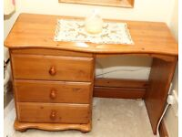 Dressing table, pine , good condition