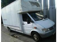 308D (1997) P reg Mercedes-Benz Luton sprinter van for sale
