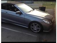 Mercedes E250 CDI Sport Blue Efficiency 2012 (62 Plate) Convertible Diesel