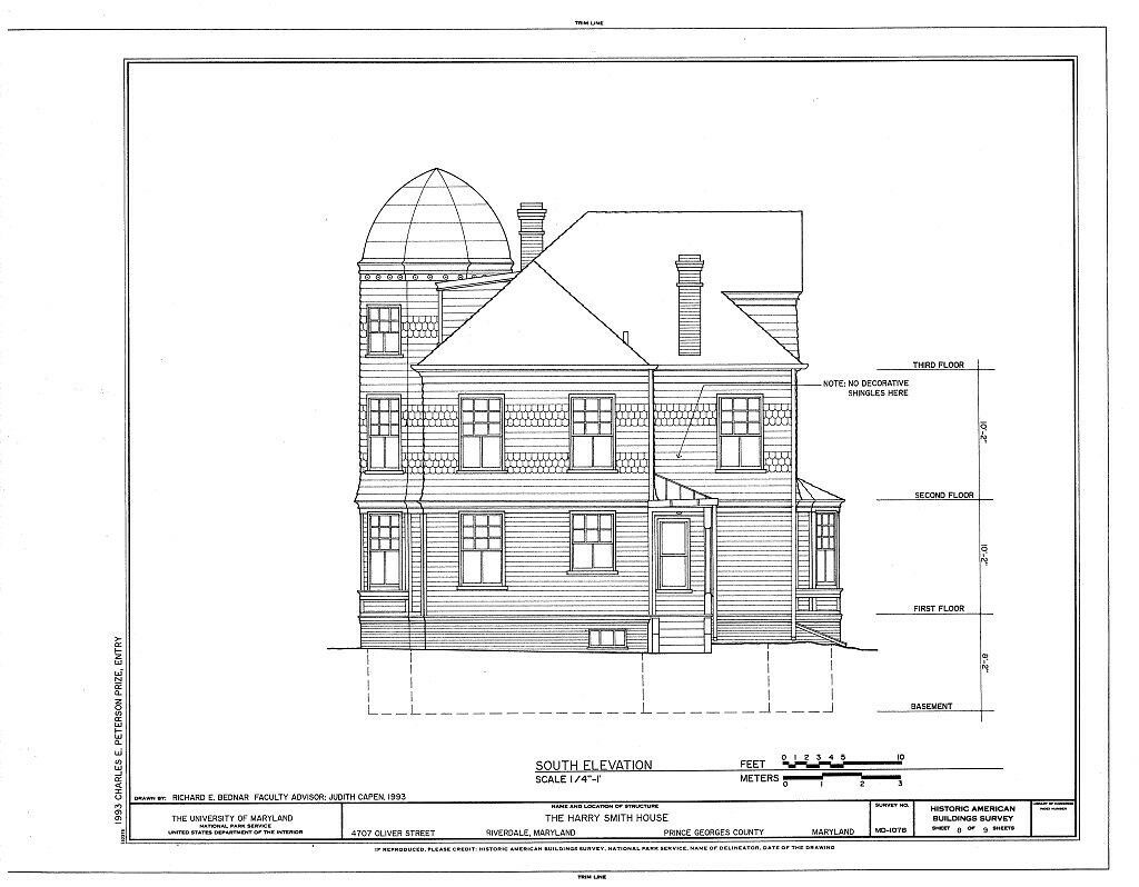 Victorian queen anne style architectural home plans tower for Queen anne style house plans