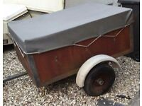 4ft by 3ft Trailer with cover £65 ono
