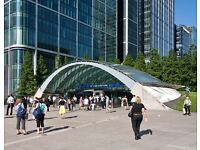 Ideally located parking place near Canary Wharf station