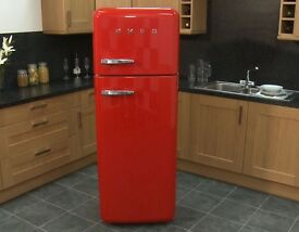 Smeg fridge freezer red, unwanted gift