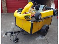 TKM BT82 110cc Clutched Go Kart, with Race computer, Tools, Spares, Paddock Stand and Trailer