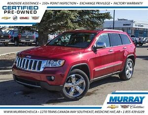 2012 Jeep Grand Cherokee Overland *4WD *Leather *NAV *Heated Sea