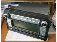 Original VW Caddy CD and Radio