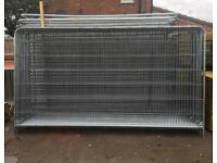 🔩 Round Top Heras Security Fencing Sets > Panel/ Foot/ clip > New