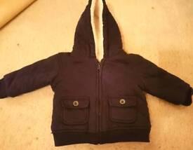 Boy's winter coat aged 3-6 Mths
