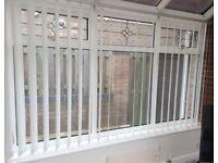 Set Of 6 Conservatory Vertical Blinds