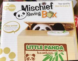 Cute Panda money box