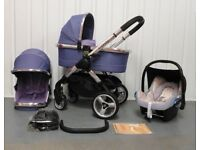 iCandy Peach PARMA FIOLET..FULL TRAVEL SYSTEM