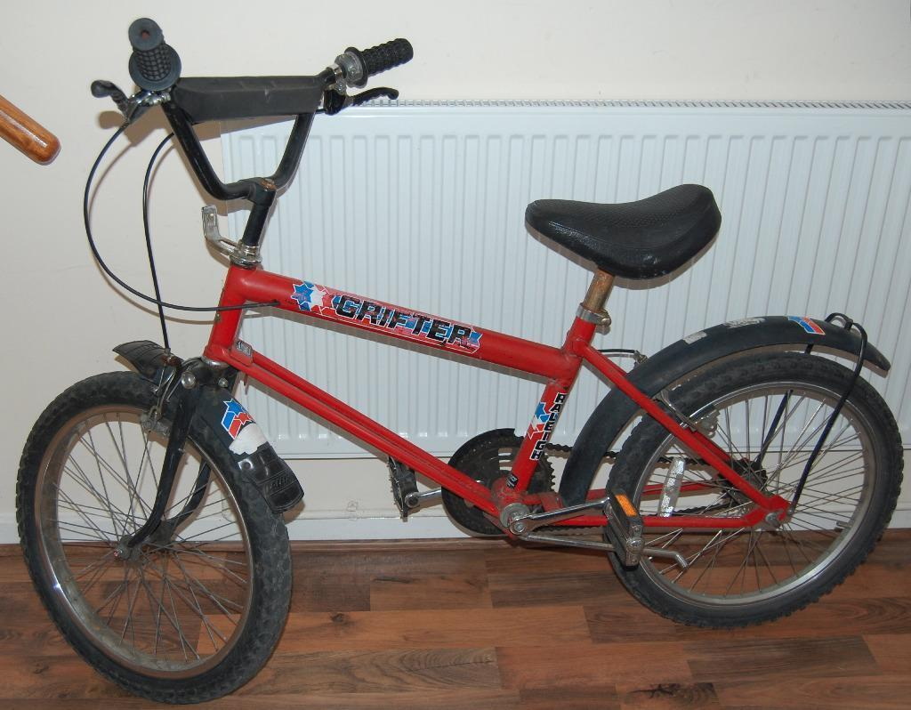 Vintage 1980s Raleigh Grifter Mk1 Bmx Bike Used In Working