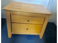 Two Bedside Tables (Matching Set)