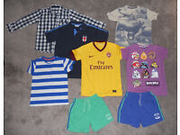 Boys Clothes T-shirts, shirt and shorts Age 10 years