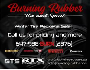 TOYOTA WINTER TIRE PACKAGE SALE, ALL MAKES AND MODELS