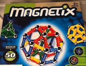 Magnetix 50 piece construction kit