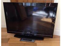 toshiba 32 inch lcd hd tv freeview hdmi remote control