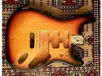 Fender strat body California Series 1997