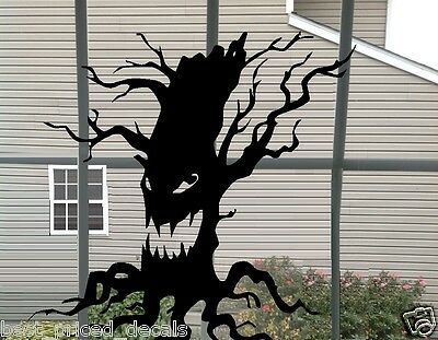 Scary Tree ~ Halloween Wall or Window
